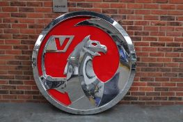 Large Vauxhall Illuminated Dealership Sign