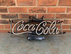 Classic Neon Coca Cola Sign