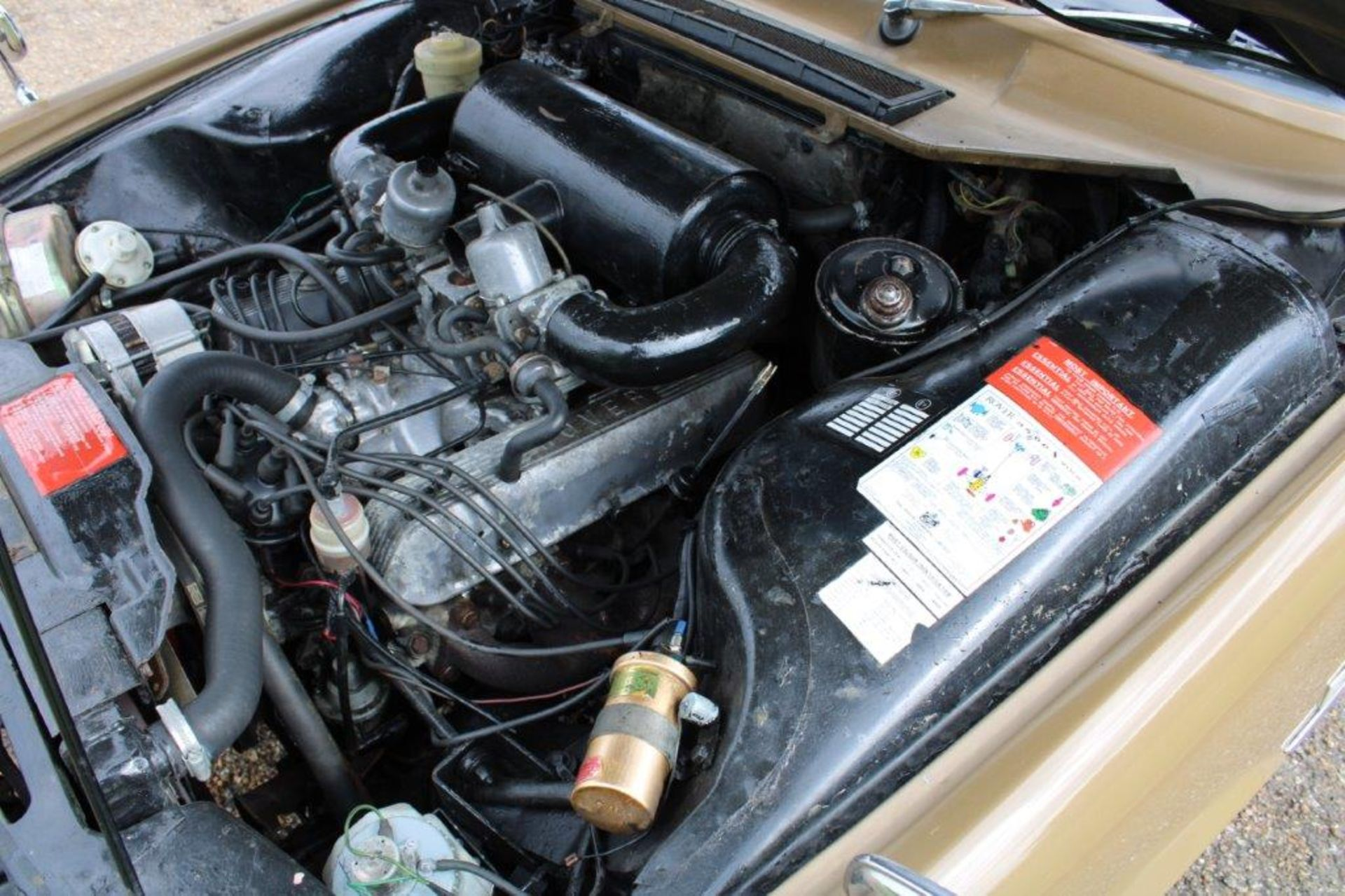 1970 Rover P6 3500 S 1 of 6 development cars - Image 20 of 21