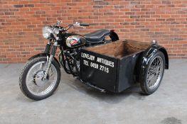 1961 BSA A10 650cc Combination Ex BBC Lovejoy