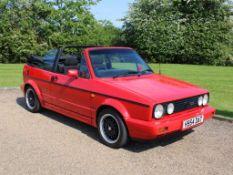1991 VW Golf 1.8 GTi Cabriolet Sportline