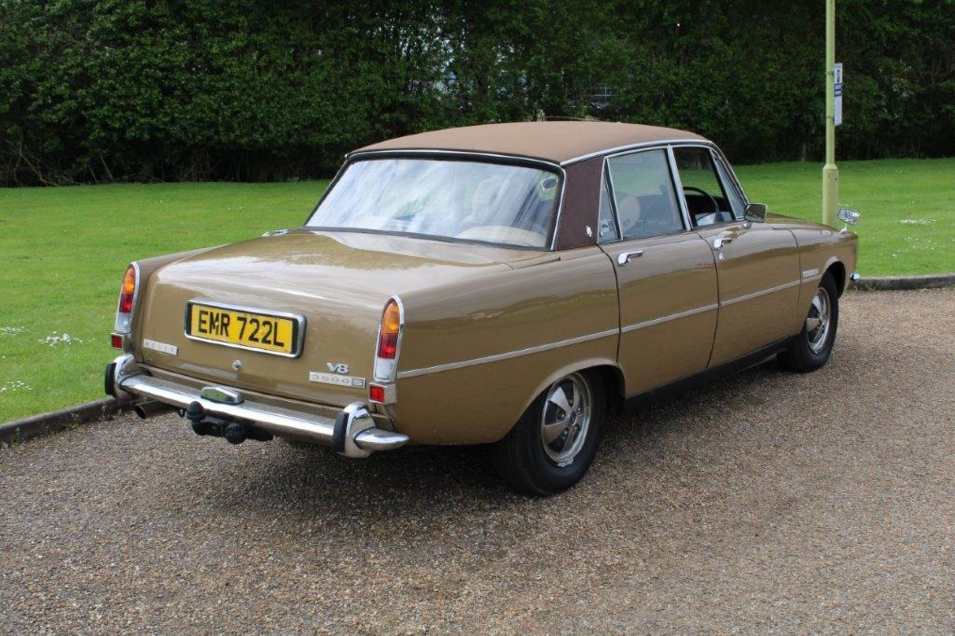 1970 Rover P6 3500 S 1 of 6 development cars - Image 8 of 21