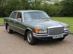 1979 Mercedes W116 280 SE Auto