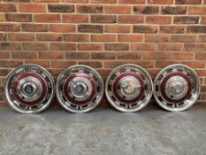 Set Of Four Rolls Royce Silver Shadow Hub Caps
