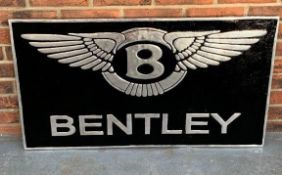 Cast Aluminium Bentley Sign