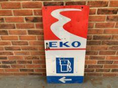 EKO Aluminium Sign