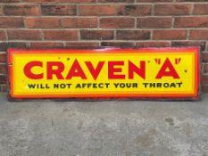 """Original Craven A"""" Enamel Sign"""""""