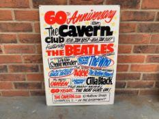 Modern 60th Anniversary The Cavern Club Sign