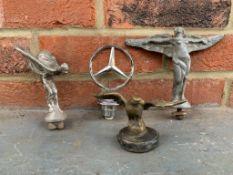 Four Vintage Car Mascots