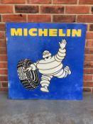 Aluminium Michelin Tyre Sign