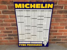 Michelin Tyre Pressure Chart