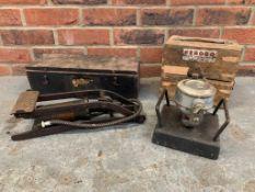 Vinatge Boxed Dunlop Foot Pump & Ferodo Break Tester