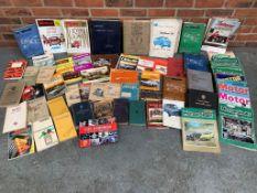 Quantity Of Motoring Books Magazines