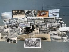 Large Quantity of Vintage Racing Photographs