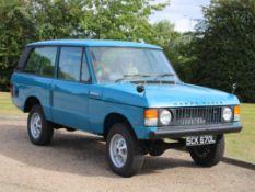 "1972 Range Rover Classic 3.5 V8 Manual Suffix A"""""