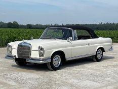 1967 Mercedes Benz 250 SE Auto Cabriolet