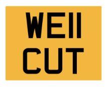WE11 CUT Registration Number
