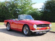 1973 Triumph TR6 Pi