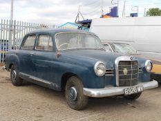1961 Mercedes Benz W120 180 'Ponton'