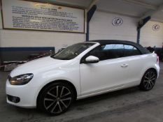 12 12 VW Golf GT Bluemotion