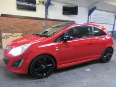 12 12 Vauxhall Corsa Limited Edition