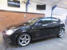 58 08 Vauxhall Astra SRI+ CDTI 150
