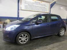 16 16 Peugeot 208 Active Blue HDI