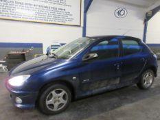 06 06 Peugeot 206 Verve HDI