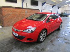 64 14 Vauxhall Astra GTC Sport CDTI