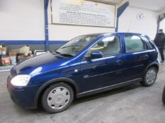 06 06 Vauxhall Corsa Design 16V Auto