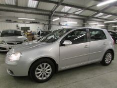 57 07 VW Golf Match TDI 105