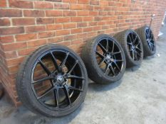 '1 Set of four 22'' Alloys'