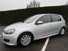 12 12 VW Golf S Bluemotion TDI