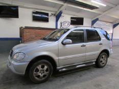04 04 Mercedes ML270 CDI Auto