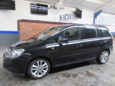 60 10 Vauxhall Zafira Exclusiv CDTI