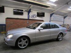 03 03 Mercedes S350 Auto