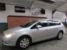 11 11 Vauxhall Astra Excl CDTI