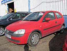 02 02 Vauxhall Corsa Comfort