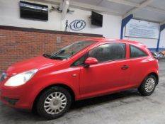 08 08 Vauxhall Corsa Expression