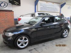08 08 BMW 116I Edition ES