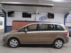 63 13 Vauxhall Zafira Excl CDTI Eflx