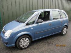 56 06 Vauxhall Meriva Life CDTI