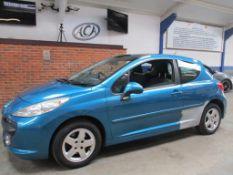 58 08 Peugeot 207 Sport Cielo 16V