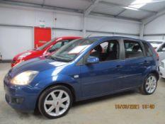 58 09 Ford Fiesta Zetec Blue