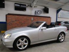 X 2000 Mercedes SLK 230 Kompressor