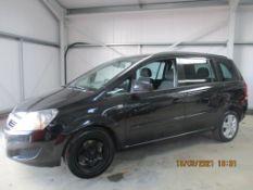 12 12 Vauxhall Zafira Excl CDTI