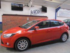 61 11 Ford Focus Titanium TDCI