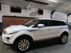 12 12 Range Rover Evoque Pure T