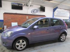 57 07 Ford Fiesta Zetec Climate