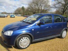 06 06 Vauxhall Corsa Design 16V Twin
